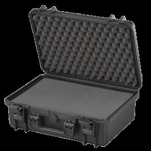 MAX430S inkl. Schaumstoffeinlagen - schwarz
