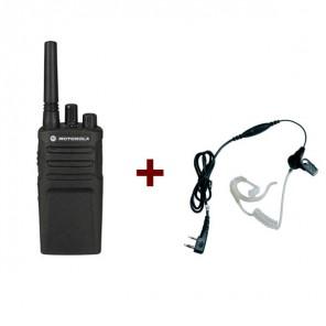 Motorola XT420 + Bodyguardset mit Ohrhaken