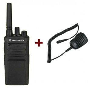 Motorola XT420 + Lautsprechermikrofon