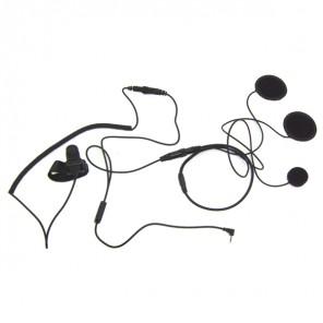 Geschlossenes Helm Mikrofon System für Motorola Funkgeräte