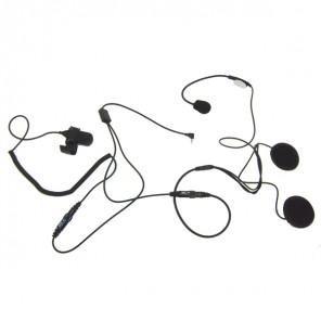 Offenes Helm Mikrofon System für 1-Pin Motorola Funkgeräte