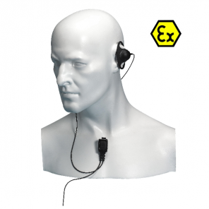 Ohrhörer mit Mikrofon für Entel HT Funkgeräte