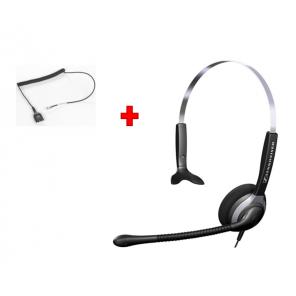 Pack: Sennheiser Headset SH 230 + Standard QD-Kabel