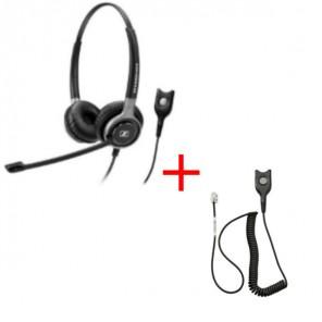 Pack: Sennheiser SC660 + Sennheiser CSTD 01 QD Kabel