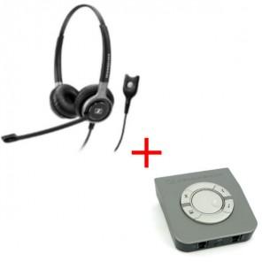 Pack: Sennheiser SC660 + Sennheiser UI770 Umschalter