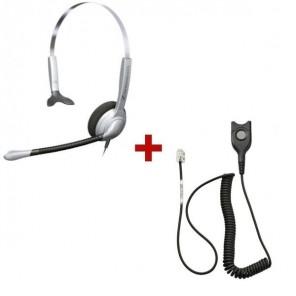 Pack: Sennheiser SH 330 + Sennheiser CSTD 01 QD Kabel