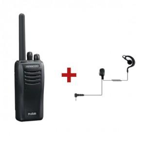 Kenwood Protalk TK-3501E + Ohrhaken-Headset