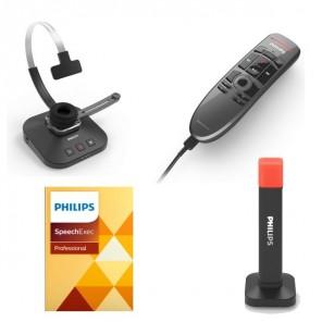 Philips SpeechOne mit Profi-Diktiergerät