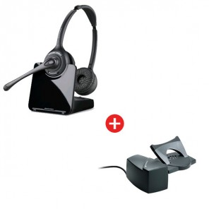 Pack: Plantronics CS520 + Hörerlift HL10