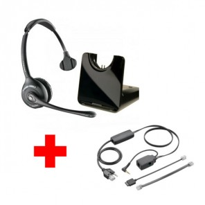 Pack für Alcatel: Plantronics CS510 + EHS-Kabel