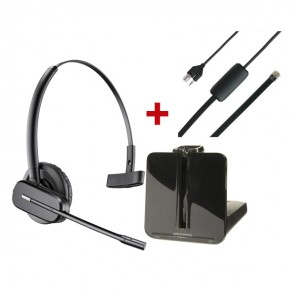 Pack für Siemens: Plantronics CS540 + EHS-Kabel APS-11