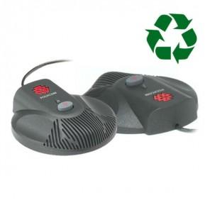 2 Zusatz-Mikrofone für Polycom Soundstation 2 - generalüberholt
