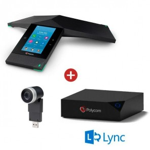 Realpresence 8800 Trio + Option zur Content-Sharing + Mini EagleEye Full HD Videokonferenzkamera - Skype for Business Version