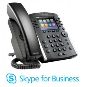 Polycom VVX 410 MS Skype für Unternehmen