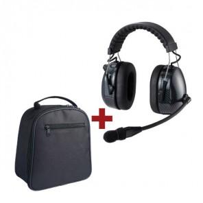 RTC HRT3000 - Gehörschutz-Headset mit Mikrofon