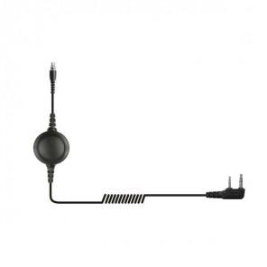 QD Kabel mit PTT-Funktion für Motorola Funkgeräte (2 polig)