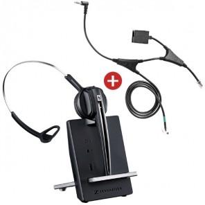Pack für Snom: Sennheiser D10 Phone + EHS-Kabel