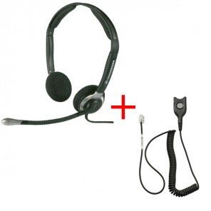 Pack: Sennheiser CC 520 + Sennheiser CSTD 01 QD-Kabel