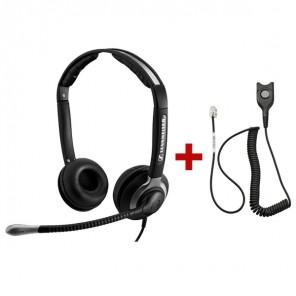 Pack: Sennheiser CC 550 + Sennheiser CSTD 01 QD-Kabel
