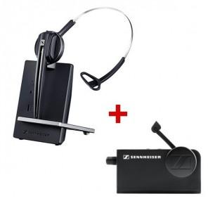 Pack: Sennheiser D10 Phone + Hörerlifter HSL 10
