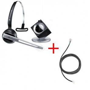 Pack für Siemens: Sennheiser DW Office Phone + EHS-Kabel