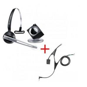 Pack für Polycom: Sennheiser DW Office ML + EHS-Kabel