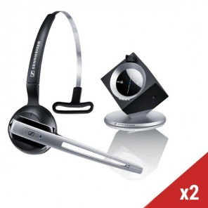 2er Set Sennheiser DW Office