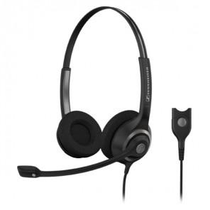 Beidohriges Wideband-Headset mit Geräuschfilter