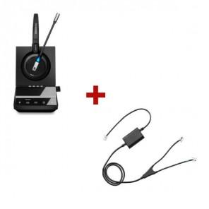 Pack für Avaya: Sennheiser DW Office + EHS-Kabel