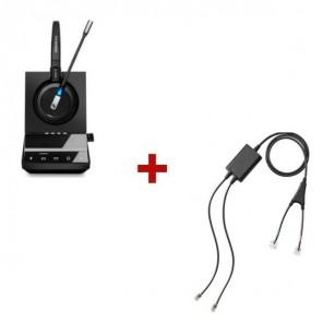 Pack für Cisco: Sennheiser SDW 5016 + EHS-Kabel