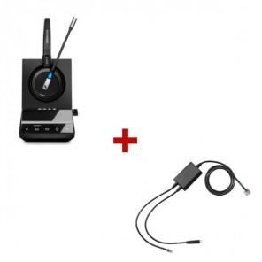 Pack für Polycom: Sennheiser SDW 5016 + EHS-Kabel