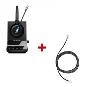 Pack für Siemens: Sennheiser SDW 5016+ EHS-Kabel