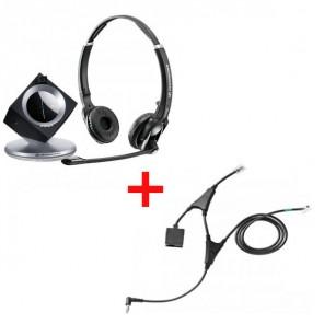 Pack für Alcatel: Sennheiser DW Pro 2 Phone + EHS-Kabel