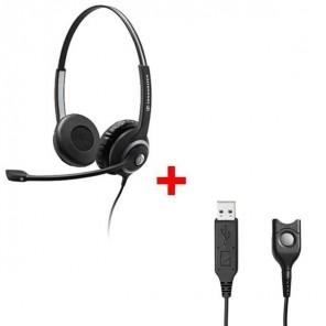 Sennheiser SC 262 + USB-Anschlusskabel USB-ED 01