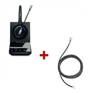 Pack für Siemens: Sennheiser SDW 5015 + EHS-Kabel