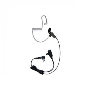 Transparentes Headset für Motorola Funkgeräte