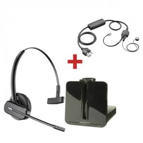 Pack für Avaya: Plantronics CS540 + EHS-Kabel APV-63