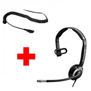 Pack: Sennheiser CC 515 + Sennheiser CSTD 01 QD-Kabel