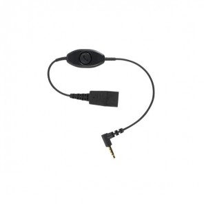 Jabra Anschlusskabel QD / 3.5 mm mit Antwort-Knopf für Smartphones
