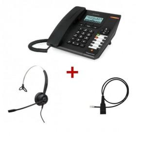 Alcatel Temporis IP150 + Alcatel TH120 + QD Anschlusskabel