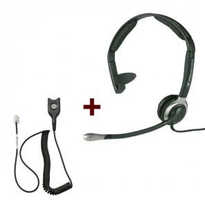 Pack: Sennheiser CC 510 + Sennheiser CSTD 01 QD-Kabel