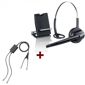 Pack für Cisco: Sennheiser D10 Phone + EHS-Kabel