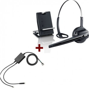 Sennheiser D10 Phone + EHS-Kabel für Polycom