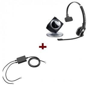 Pack für Snom: Sennheiser DW Pro 1 Phone + EHS-kabel