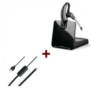 Pack für Siemens: Plantronics CS530 + EHS-Kabel