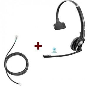Pack für Siemens: Sennheiser DW Pro 1 ML + EHS-Kabel