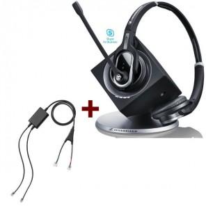 Pack für Cisco: Sennheiser DW Pro 2 ML + EHS-Kabel