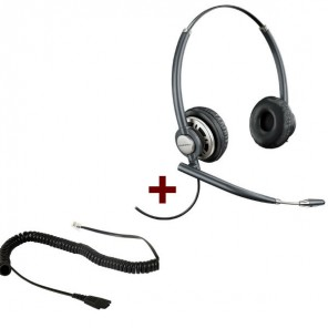 Plantronics EncorePro 720 mit Standardanschlusskabel