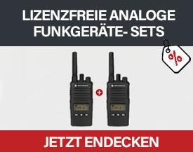 Lizenzfreie Analoge Funkgeräte Sets