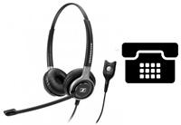 Schnurgebundene Headsets für Tischtelefone/Multiple Nutzung